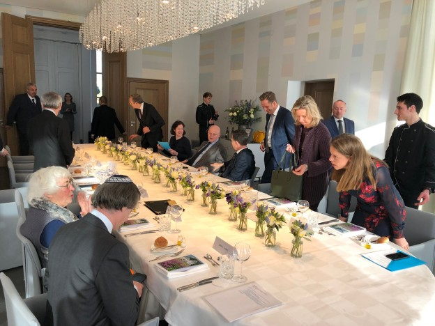 ontmoeting Rutte en joodse gemeenschap februari 2018